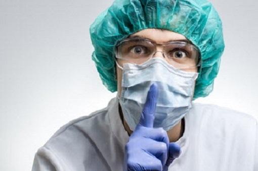 Psst! Arzt - mit Maske