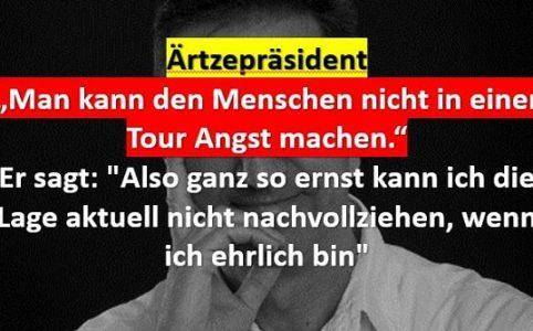 Ärztepräsident kritisiert Merkel