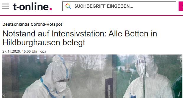T Online Bericht zu Hildburghausen