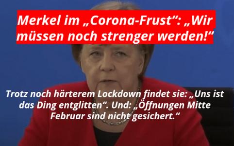 Merkel: Uns ist das Ding entgitten