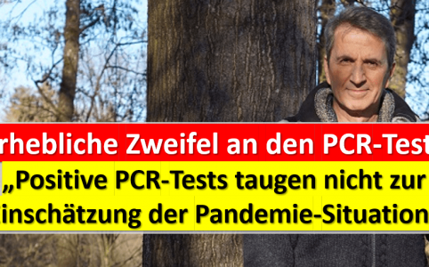 Zweifel an PCR Tests